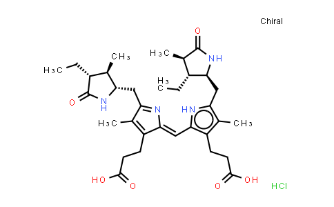 BP25385 | 34217-90-8 | Stercobilin hydrochloride (mixture of isomers)