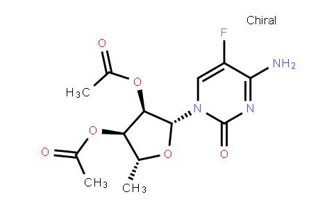 2',3'-Di-O-acetyl-5'-deoxy-5-fuluro-D-cytidine