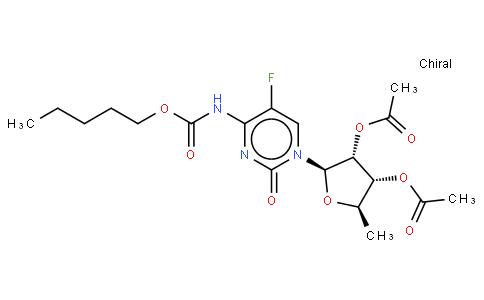 5'-Deoxy-5-fluoro-N-[(pentyloxy)carbonyl]cytidine 2',3'-diacetate