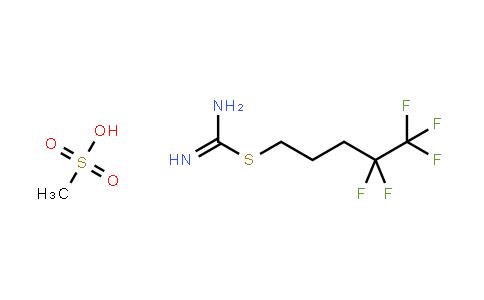 1107606-68-7 | S-(4,4,5,5,5-pentafluoropentyl)isothiourea methanesulfonate