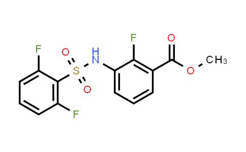 BF12440 | 1195768-19-4 | Methyl 3-(2,6-difluorophenylsulfonamido)-2-fluorobenzoate