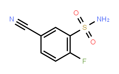 1204572-73-5 | 5-Cyano-2-fluorobenzenesulfonamide