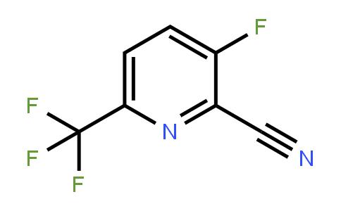 1214348-68-1 | 3-Fluoro-6-(trifluoromethyl)pyridine-2-carbonitrile