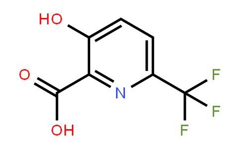1214362-36-3   3-Hydroxy-6-(trifluoromethyl)pyridine-2-carboxylic acid