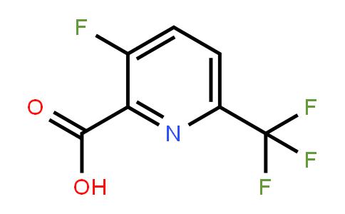 1214365-86-2 | 3-Fluoro-6-(trifluoromethyl)pyridine-2-carboxylic acid