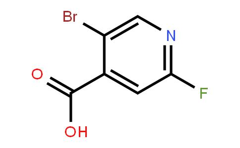 1214377-40-8 | 5-Bromo-2-fluoroisonicotinic acid