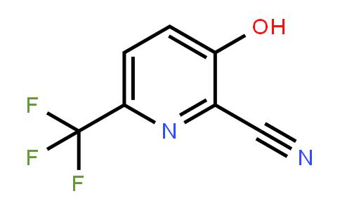 1227582-76-4 | 3-Hydroxy-6-(trifluoromethyl)pyridine-2-carbonitrile