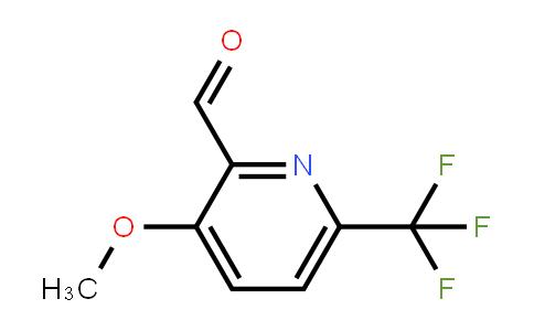 1227584-28-2 | 3-Methoxy-6-(trifluoromethyl)pyridine-2-carbaldehyde