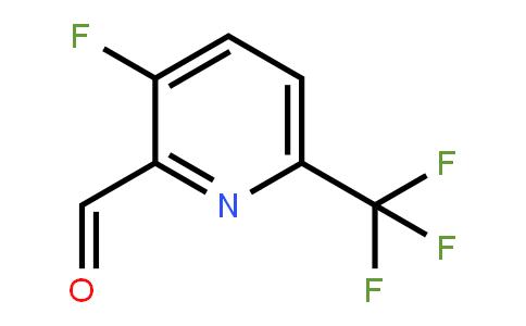 1227585-11-6 | 3-Fluoro-6-(trifluoromethyl)pyridine-2-carbaldehyde