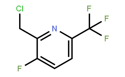 1227590-95-5   2-Chloromethyl-3-fluoro-6-(trifluoromethyl)pyridine