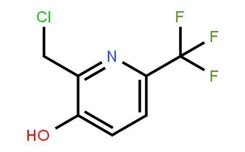 1227606-43-0 | 2-Chloromethyl-3-hydroxy-6-(trifluoromethyl)pyridine