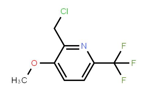 1227606-47-4 | 2-Chloromethyl-3-methoxy-6-(trifluoromethyl)pyridine