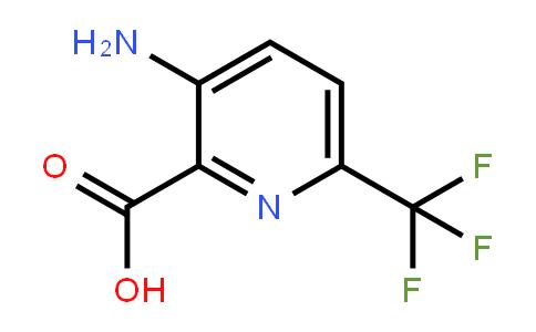 126066-45-2   3-Amino-6-(trifluoromethyl)pyridine-2-carboxylic acid