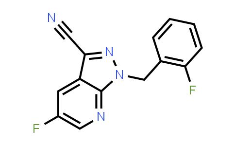 BF12539 | 1350653-26-7 | 5-Fluoro-1-[(2-fluorophenyl)methyl]-1H-pyrazolo[3,4-b]pyridine-3-carbonitrile