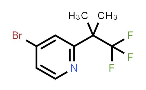BF12478 | 1357476-67-5 | 4-Bromo-2-(1,1,1-trifluoro-2-methylpropan-2-YL)pyridine