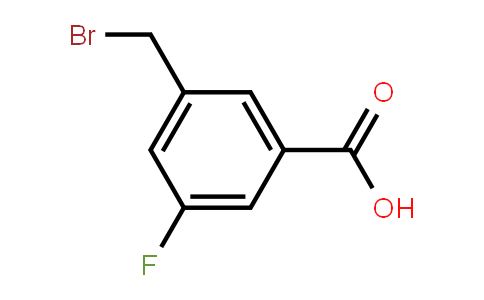 1379351-68-4 | 3-(Bromomethyl)-5-fluorobenzoic acid
