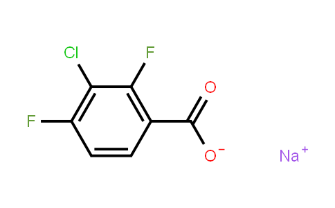 1396762-34-7 | Sodium 3-chloro-2,4-difluorobenzoate