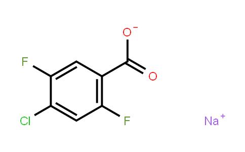 1421029-91-5 | Sodium 4-Chloro-2,5-difluorobenzoate