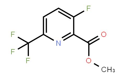 1446450-52-9 | 3-氟-6-三氟甲基吡啶-2-甲酸甲酯