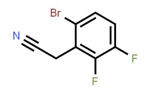 BF12520 | 1517576-71-4 | 6-Bromo-2,3-difluorophenylacetonitrile