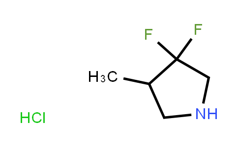 BF12352 | 1780813-63-9 | 3,3-Difluoro-4-methylpyrrolidine hydrochloride