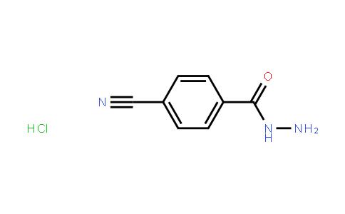 BF12260 | 1865223-60-4 | 4-Cyanobenzohydrazide Hydrochloride
