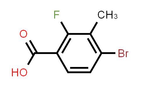 194804-90-5 | 4-溴-2-氟-3-甲基苯甲酸
