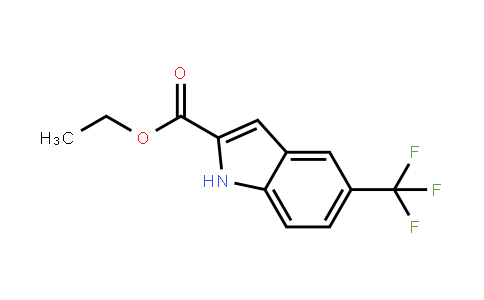 201929-84-2 | 5-(Trifluoromethyl)indole-2-carboxylic acid ethyl ester