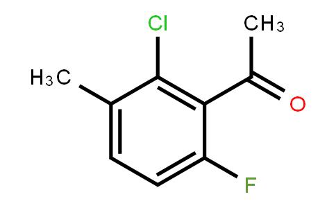 261762-63-4 | 1-(2-Chloro-6-fluoro-3-methylphenyl)ethanone