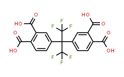 BF12373 | 3016-76-0 | 4-[2-(3,4-Dicarboxyphenyl)-1,1,1,3,3,3-hexafluoropropan-2-yl]phthalic acid