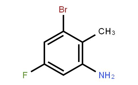 502496-36-8 | 3-Bromo-5-fluoro-2-methylaniline
