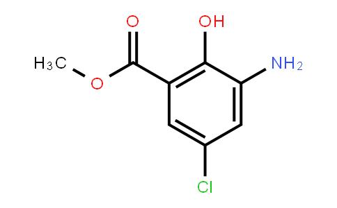 5043-81-2 | 3-Amino-5-chloro-2-hydroxybenzoic acid methyl ester