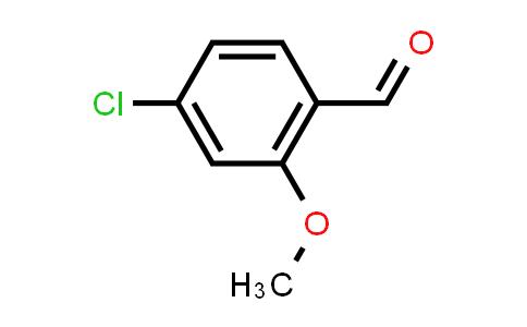 53581-86-5   4-Chloro-2-methoxybenzaldehyde