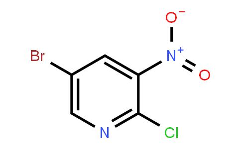 67443-38-3 | 5-溴-2-氯-3-硝基吡啶