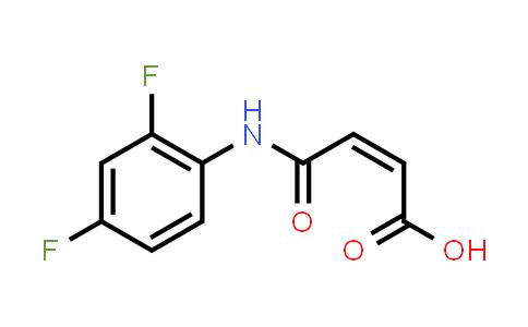 6954-64-9   N-(2,4-二氟苯基)马来酸