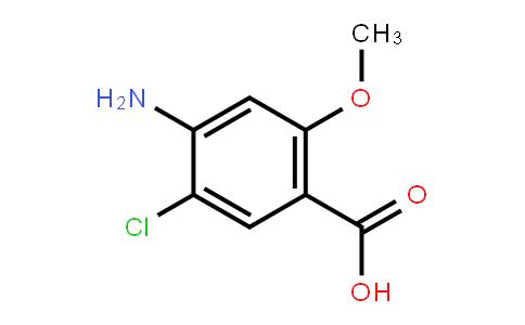 7206-70-4 | 4-Amino-5-chloro-2-methoxybenzoic acid
