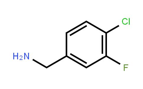 72235-58-6   (4-Chloro-3-fluorophenyl)methanamine