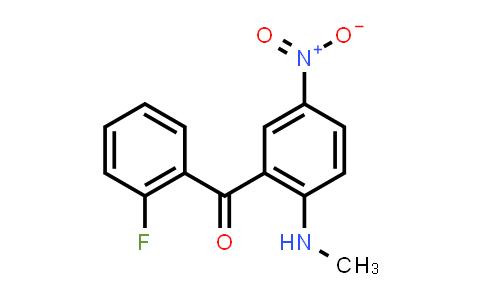 BF12367 | 735-06-8 | 2-甲氨基-5-硝基-2'-氟二苯甲酮
