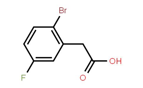 739336-26-6 | 2-Bromo-5-fluorophenylacetic acid