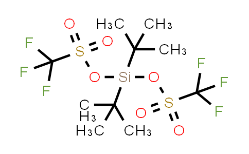 OF18406 | 85272-31-7 | Bis(trifluoromethanesulfonic acid)di-tert-butylsilanediyl ester