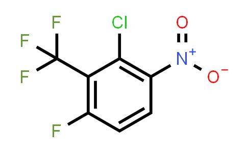 870065-92-2 | 2-Chloro-4-fluoro-1-nitro-3-(trifluoromethyl)benzene