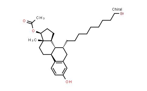 BF12458 | 875573-66-3 | (7a,17B)-7-(9-bromononyl)-estra-1,3,5(10)-triene-3,17-diol 17-acetate
