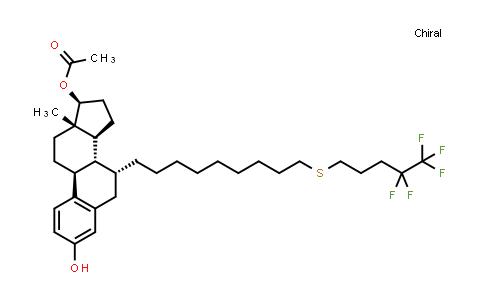 BF12457 | 875573-69-6 | (7a,17B)-7-[9-[(4,4,5,5,5-pentafluoropentyl)thio]nonyl]-estra-1,3,5(10)-triene-3,17-diol 17-acetate
