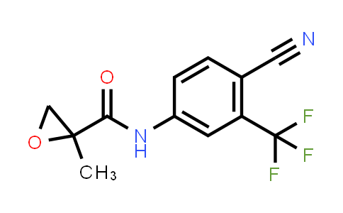 BF12468 | 90357-51-0 | N-(4-cyano-3-(trifluoromethyl)phenyl)-2-methyloxirane-2-carboxamide