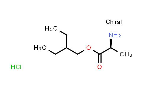 BF12453 | 946511-97-3 | (S)-2-ethylbutyl 2-aminopropanoate hydrochloride