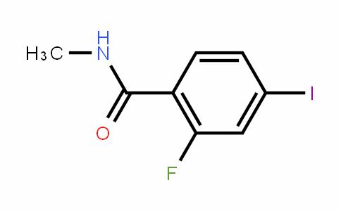 BF10101 | 1351185-56-2 | N-methyl-2-fluoro-4-iodobenzamide