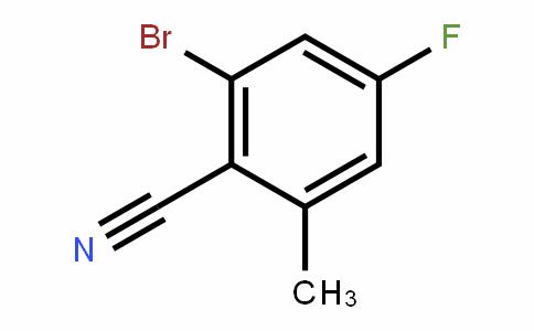 916792-09-1 | 2-溴-4-氟-6-甲基苯腈