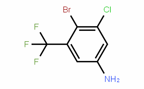 914225-58-4 | 4-Bromo-3-chloro-5-(trifluoromethyl)aniline