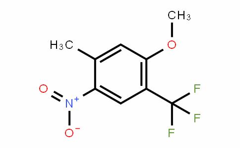 933673-45-1 | 2-Methoxy-4-methyl-5-nitrobenzotrifluoride