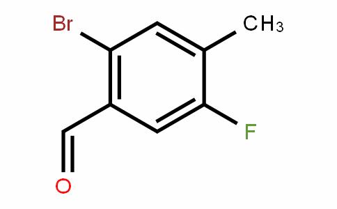 916792-21-7 | 2-Bromo-5-fluoro-4-methylbenzaldehyde
